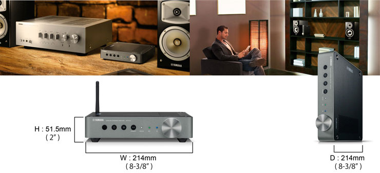 Yamaha WXA50 Wireless Streaming Amplifier