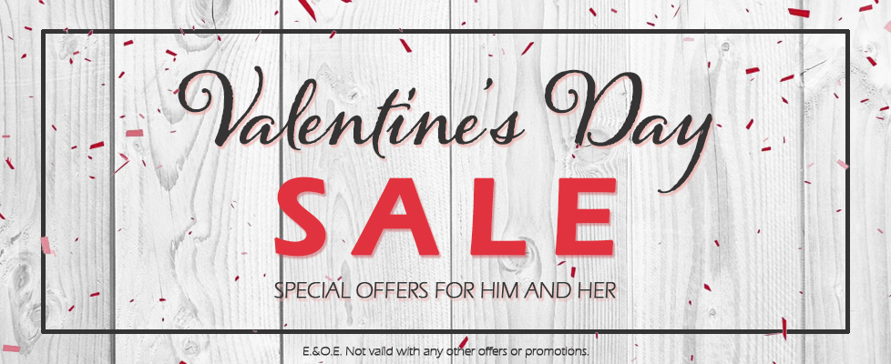 Valentine's Day Special Offers for Him at Musical Images