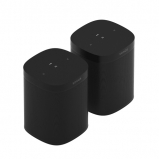 Sonos 2 x One SL in Black - Two Room Set