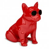 Jarre AeroBull HD Wireless Bluetooth Speaker in Glossy Red