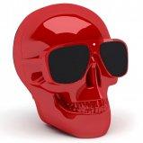 Jarre AeroSkull Nano Wireless Bluetooth Speaker in Glossy Red front