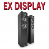 Acoustic Energy AE109 Satin Black Floorstanding Speakers - Pair - Ex Display