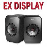 Kef LSX WIreless Music Speakers in Black - Ex Display