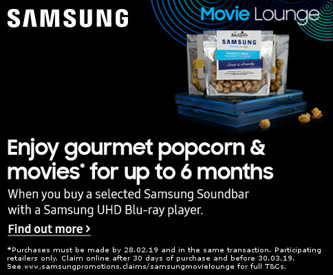 Samsung 6 Month Popcorn Subscription