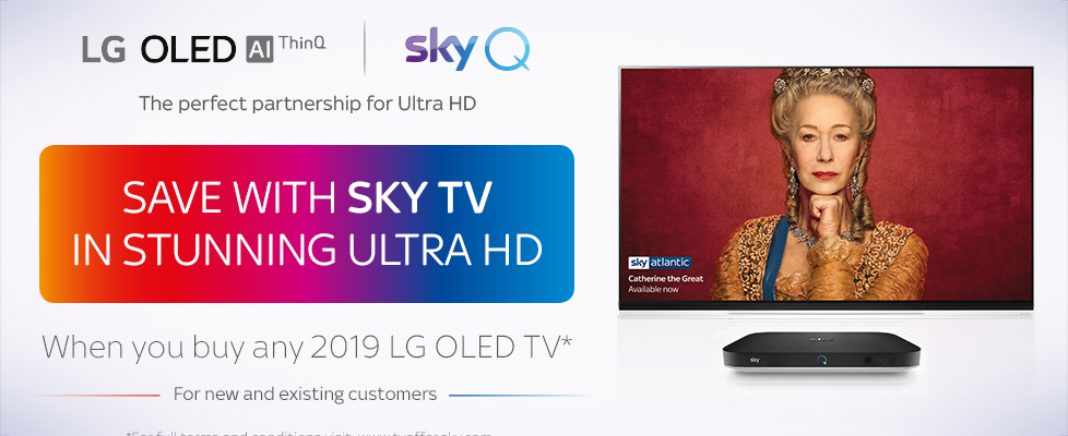 LG - Sky TV Entertainment Package Promotion