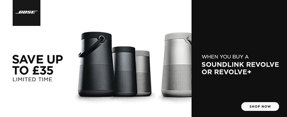 SAVE up to £35 on Bose Revolve Speakers