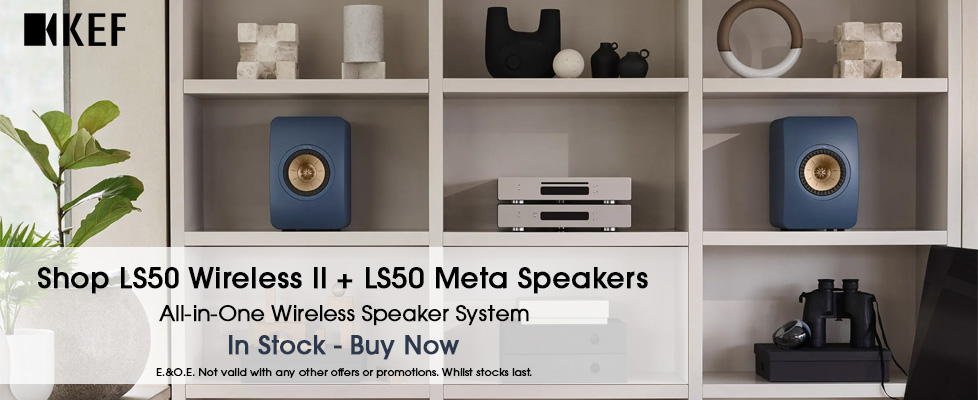 Kef LS50 Meta + Wireless II