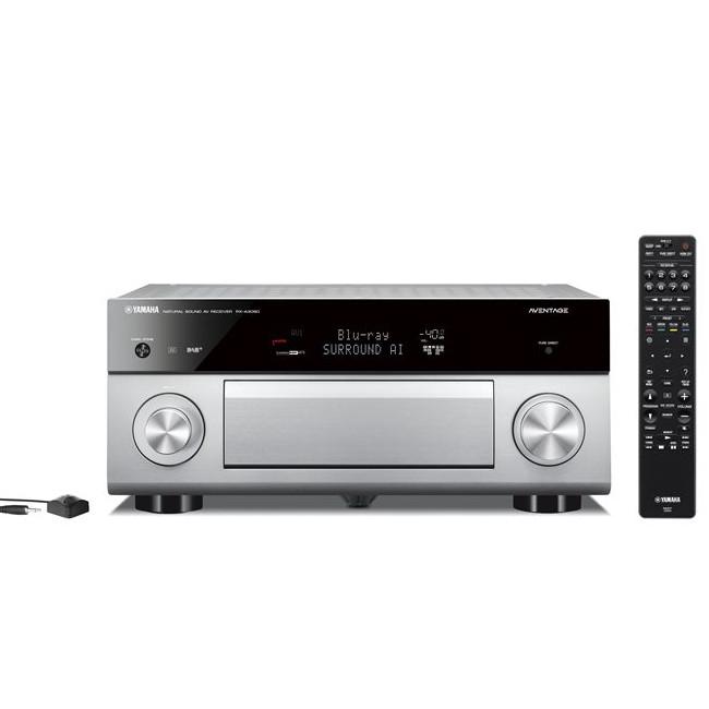 Yamaha RXA3080 9 2 Channel Aventage MusicCast AV Receiver in Titanium