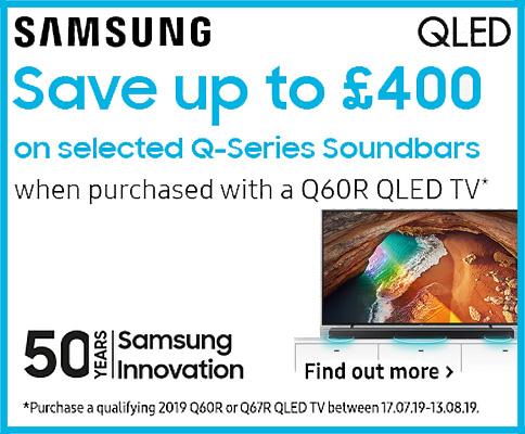 Samsung QLED + Soundbar Promotion