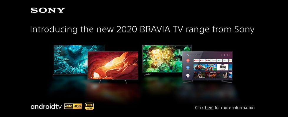 Sony 2020 TVs