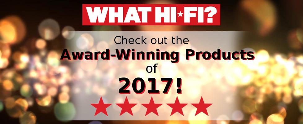 What Hi-Fi? 2017 Award Winners