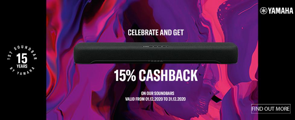 Yamaha Soundbar Cashback Promotion