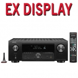Denon AVC-X4700H 9.2ch 8K AV Amplifier with Heos Built in and Voice Control in Black - Ex Display