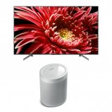Sony KD55XG8505 55 inch TV with Yamaha MusicCast 20 Speaker in White