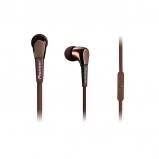 Pioneer SE-CL722T In-Ear Stereo Headphones - Brown