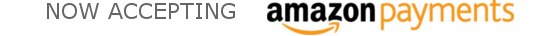 Now Accepting Amazon Payments - Simply Login at Checkout!