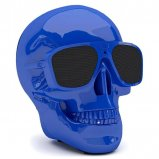 Jarre AeroSkull XS+ 2.1 Wireless Bluetooth Speaker in Glossy Blue front