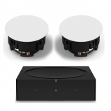 Sonos Wireless Amplifier with Sonos In-Ceiling Speaker (Pair)