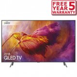 Samsung QE55Q8D 55 inch QLED Ultra HD HDR 1500 Smart 4K TV front
