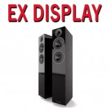Acoustic Energy AE309 Floorstanding Piano Gloss Black - Pair - Ex Display