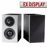 Definitive Technology D7 High Performance Bookshelf Speakers Black - Ex Display front