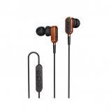 Kef M100 In Ear Headphones in Orange - Manufacturer Refurbished