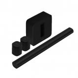 Sonos 2 x One SL Home Speaker, Arc Smart Soundbar with Voice Control and Subwoofer Gen 3 - Black