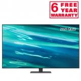 Samsung QE50Q80AA 2021 50 inch Q80A QLED 4K HDR Smart TV front