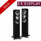 KEF R500 Floorstanding Speaker in Piano Black - Ex Display