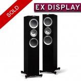 KEF R700 Floorstanding Speaker in Piano Black Ex Demo