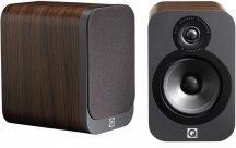 Q Acoustics Q3010 Bookshelf Speakers in American Walnut Pair