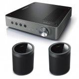 Yamaha WXC-50 Wireless Pre-Amp with 2x MusicCast 20 Wireless Speakers - Black