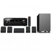 Pioneer HTP-076 5.1 Ch Receiver and 5.1 Speaker System