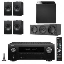 Denon AVRX2700H 7.2 Ch 8K AV Receiver with Kef Q150 Speaker Pack