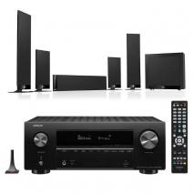 Denon AVRX2700H 7.2 Ch 8K AV Receiver with Kef T205 5.1 Home Theatre Speaker System