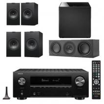 Denon AVRX2700H 7.2 Ch 8K AV Receiver with Kef Q350 Speaker Pack