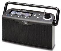 Roberts radio Classiclite DAB FM RDS digital portable radio in Black