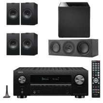 Denon AVC-X3700H 9.2ch 8K AV Amplifier with KEF Q150 Speaker Package