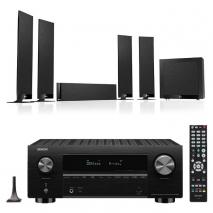 Denon AVC-X3700H 9.2ch 8K AV Amplifier with KEF T305 5.1 Home Theatre Speaker Package