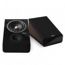 Elipson Prestige Facet 6ATM Atmos Speaker Pair in Black/Walnut