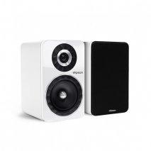 Elipson Prestige Facet 6B Bookshelf Speaker in White - Pair