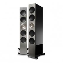 KEF Reference 5 Floorstanding Speaker in Piano Black