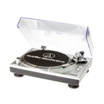 Audio Technica AT-LP120USBHC Direct Drive Professional Turntable - Silver Full