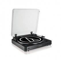 Audio Technica AT-LP60BT Wireless Belt Drive Stereo Turntable - Black