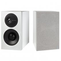 Definitive Technology D9 High Performance Bookshelf Speakers in White pair