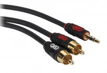 QED Profile Single J2P Jack-to-Phono Cable - 1 Metre