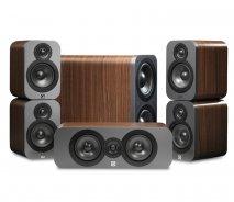 Q Acoustics Q3000 5.1 home cinema package in American Walnut