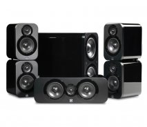 Q Acoustics Q3000 5.1 home cinema package in Black Lacquer