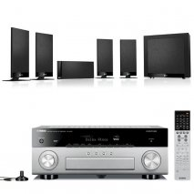 Yamaha RXA870T AV Receiver in Titanium with Kef T105 5.1 Home Cinema Speakers