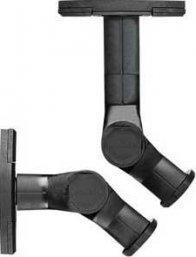 Sanus WMS3 Tilt and Swivel Mounts in Black (Pair) for Speakers mount on Wall or Ceiling